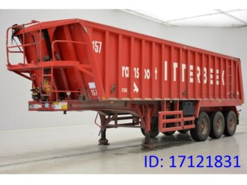 Tipper semi-trailer Stas 38 Cub in Alu: picture 1