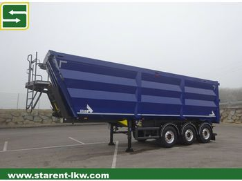 Tipper semi-trailer Stas 3 Achs Kipper S300CX 45m³, Liftachse, Podest