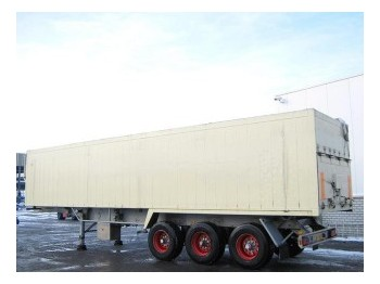 Stas 54m? Kippanlage 0-34/3FAK - tipper semi-trailer