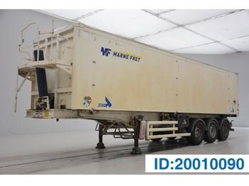 Tipper semi-trailer Stas 55 cub in alu