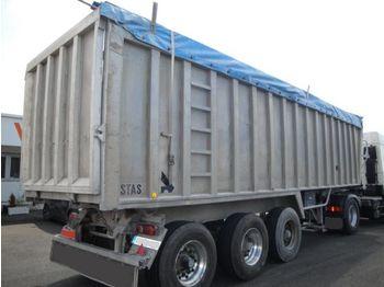 Stas 9m x 2m - tipper semi-trailer