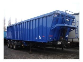 Stas KIPPER ALUMINIUM 3-AS - tipper semi-trailer