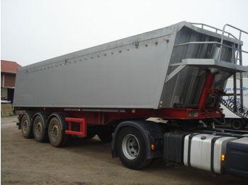 Stas S3-SA336K Alu kipmulde 36m3 - tipper semi-trailer