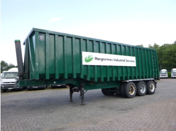 Titan Tipper trailer steel + inox 70 m3 / 68 tonnes - tipper semi-trailer