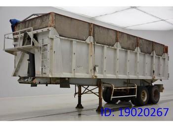 Trailor 40 cub in alu - tipper semi-trailer