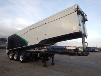 Tipper semi-trailer UNITED TRAILERS TIPPING/BLOWER TRAILER C/W DONKEY ENGINE - 2005