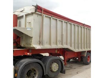 Wilcox Tri Axle Bulk Tipping Trailer (Plating Certificate Available, Tested 10/19) - tipper semi-trailer