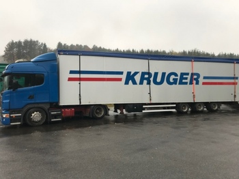 Knapen KOCF 200 Schubboden - walking floor semi-trailer