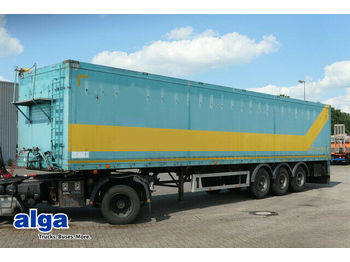 Bunge SA24EW, 70m³, BPW, Trommelbremse, Plane  - walking floor semi-trailer