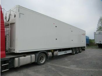 Fliegl ca.92 cbm Schubboden, Lift, SAF Scheibe, Top!!  - walking floor semi-trailer