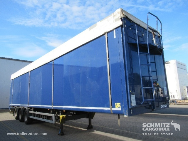 walking floor semi-trailer KRAKER Auflieger Schubboden Standard