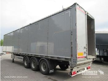 Walking floor semi-trailer KRAKER Auflieger Schubboden Standard Folding wall left