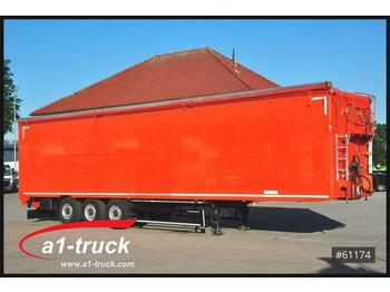 Kempf SP 35/3, Lenk- Achse, Alufelgen  - walking floor semi-trailer