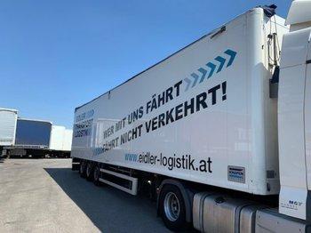 Ημιρυμουλκούμενος μεταφορική βουτσάς Knapen K100 Cargo-Walk Schubboden , SAF Achsen, 6mm Boden