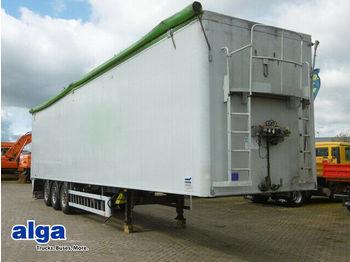 Ημιρυμουλκούμενος μεταφορική βουτσάς Knapen K 100/92 m³./10 mm Boden/Plane/Liftachse