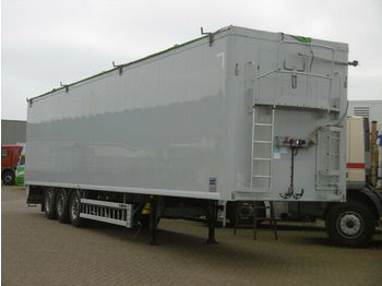 Walking floor semi-trailer Knapen K 100, 92m³, Plane, Lift, 10mm Boden, Scheibe