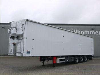Walking floor semi-trailer Knapen K 100 /KT01*91m³*Schubboden, Luft-Lift