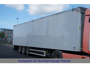 Walking floor semi-trailer Knapen K 200 93m³ Walkingfloor Schubboden Fernbedienung