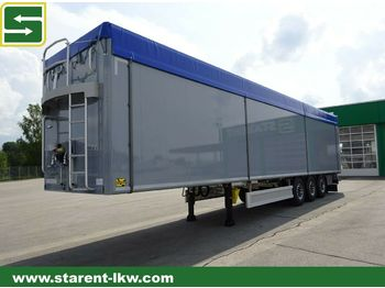 Kraker Schubboden CF-Z 500, 92m3, 10 mm Boden, SAF, NEU  - walking floor semi-trailer