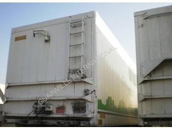 Walking floor semi-trailer Legras