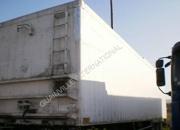walking floor semi-trailer Legras