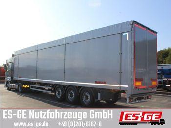 Walking floor semi-trailer Reisch 3-Achs-Schubbopdenauflieger 91,6 m3