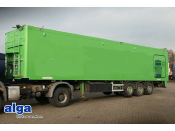 Schwarzmüller Knapen, 85m³ HDI 18/8mm Boden, Scheibe.  - walking floor semi-trailer