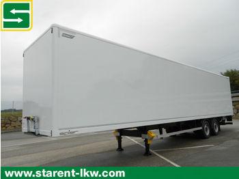 Semireboque furgão Spier 2 Achs Plywood Koffertrailer, 2t. LBW, SAF