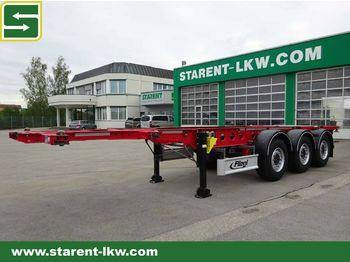 Semireboque transportador de contêineres/ caixa móvel Fliegl Containerchassis SDS 380 light, 20/30 Fuß