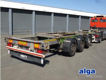Semireboque transportador de contêineres/ caixa móvel Schmitz Cargobull SCF 24, 2x20, 1x30/40/45 Fuß, vollverzinkt!