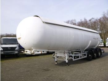 Semiremorcă cisternă Barneoud Gas tank steel 47.8 m3