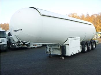 Semiremorcă cisternă Barneoud Gas tank steel 50 m3 / 1 comp + pump/counter