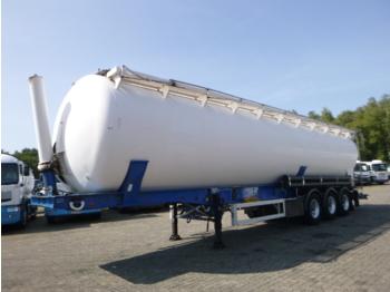 Semiremorcă cisternă Feldbinder Powder tank alu 63 m3 / 1 comp (tipping)