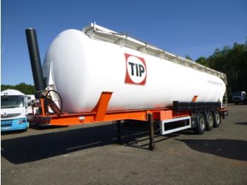 Feldbinder Powder tank alu 63 m3 (tipping) - semiremorcă cisternă