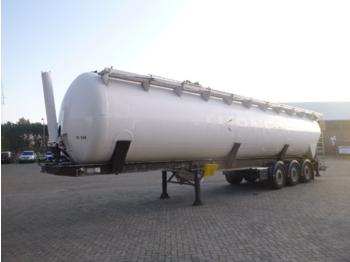 Semiremorcă cisternă Feldbinder Powder tank alu 65 m3 (tipping)