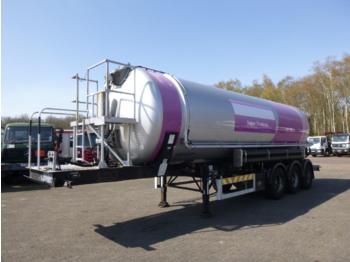 Semiremorcă cisternă OKM / Feldbinder Powder / food tank alu 37 m3 (tipping): Foto 1
