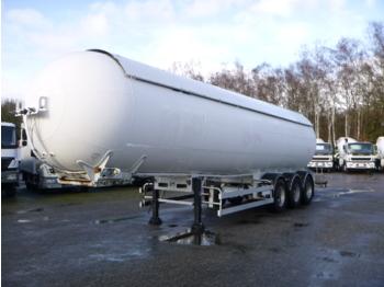 Semiremorcă cisternă Robine Gas tank steel 50 m3