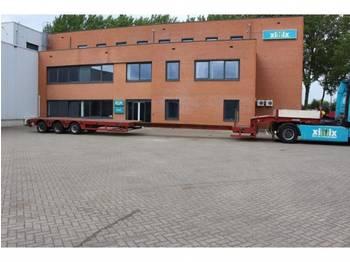 Semiremorcă transport agabaritic Faymonville 3-ass. Uitschuifbare semi dieplader // 3x gestuurd