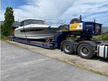 Nooteboom EURO-54-03 (BOILER & BOAT trailer) - semiremorcă transport agabaritic