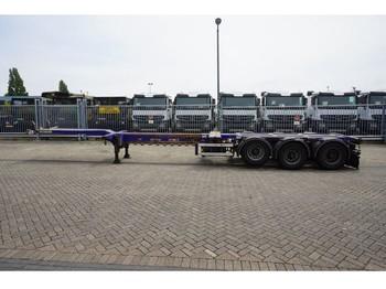 D-Tec 3 AXLE CONTAINER TRAILER - semiremorcă transport containere/ swap body