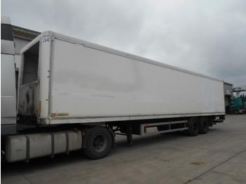 Trax S312DAP (ISOLATED BOX / DOUBLE TIRES) - caja cerrada semirremolque