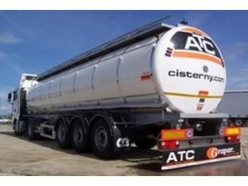 CARDI & ATC FOOD-TANK-TRAILOR - cisterna semirremolque