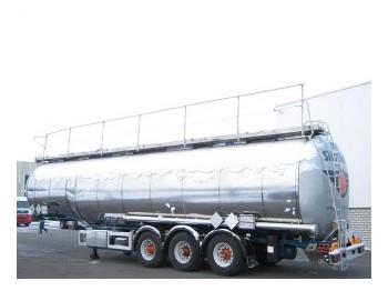 Feldbinder 52.217 Ltr / 3 Heizung - cisterna semirremolque