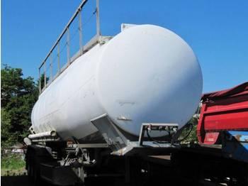 Trailor Tankauflieger Diesel+Benzin - cisterna semirremolque