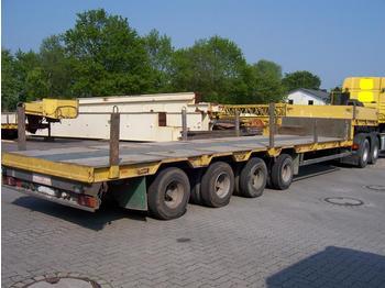 GOLDHOFER STZ4 46/80, 57.500 kg complete - góndola rebajadas semirremolque