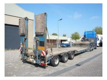 Goldhofer 3 axel low loader trailer - góndola rebajadas semirremolque