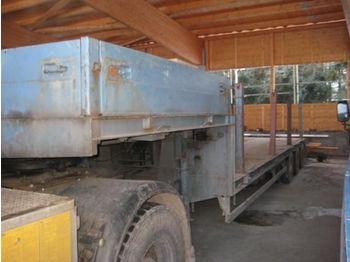 Goldhofer STZL 3   30 / 80 - góndola rebajadas semirremolque