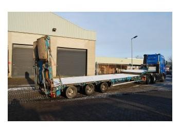 Goldhofer low loader 3 axle - góndola rebajadas semirremolque