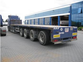 Goldhofer 4-Achsen - plataforma semirremolque
