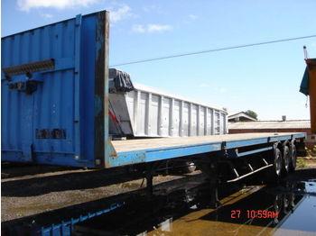 Trailor aluminium 13.60m - plataforma semirremolque
